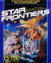 Star Frontiers, role-playing game