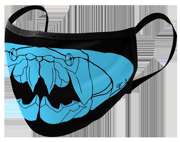 dunkleosteus-mask-blue