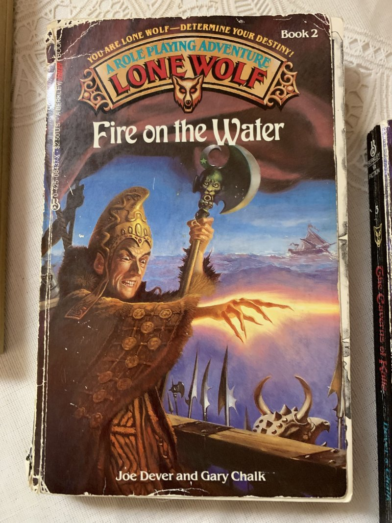 Lone Wolf: Fire on the Water