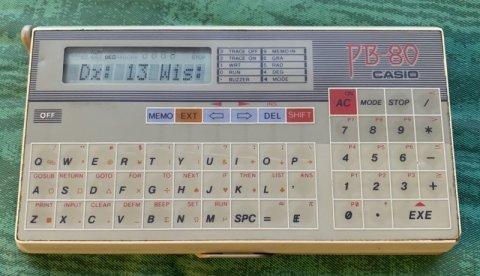 Casio PB-80 pocket computer
