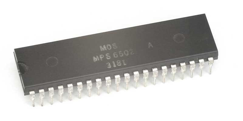 MOS 6502 cpu