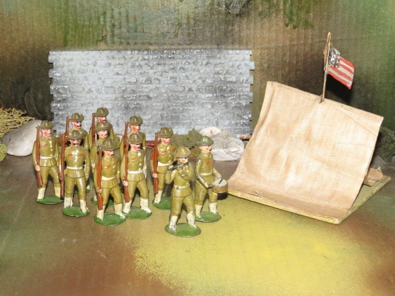 Theodore Hahn Toy soldiers