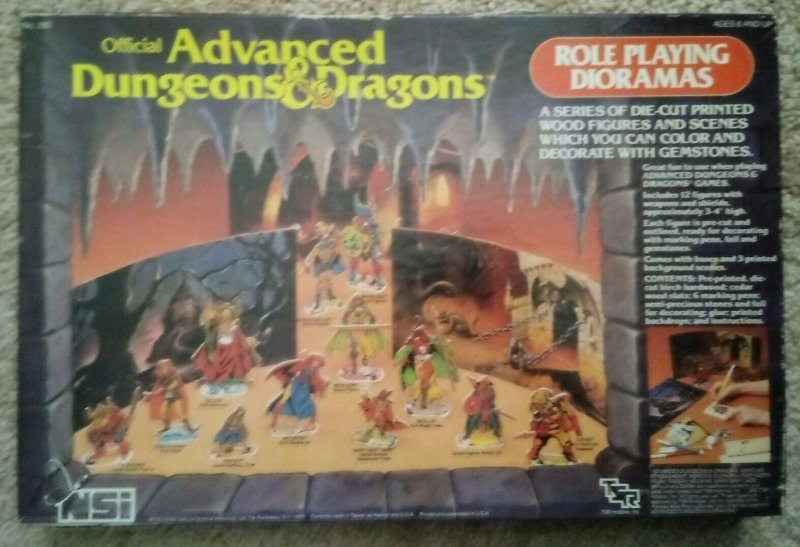 AD&D Role Playing Dioramas